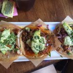 Yummy street tacos