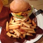 Hot Chick Burger Regular Combo $120