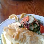 Whitebait Fritters for two