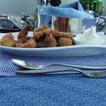 Delicious Breaded shrimps