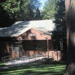 Lodge, Mount Shasta City Park Mount Shasta. CA