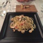 Fritto misto per due, spaghetti alla pescatora e filetto di tonno