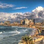 Обожаю набережную Тель-Авива .