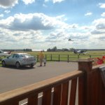 Great views from decking area