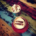 Gorgeous Coffee at Georgie Porgies