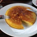 Delicious buttery banana pancakes!