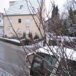Panorama dopo una nevicata