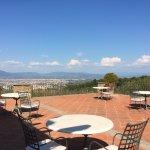 La terrasse et la vue sur Florence