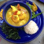 Coconut seafood curry swahili style