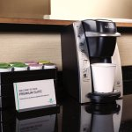 In-room Coffe station