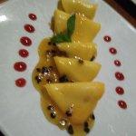 mango ravioli