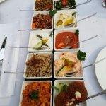 Mazza I und Al-Dar-Dessert