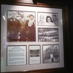 Info board on Stan Laurel inside