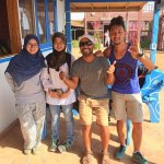 With the best dive instructor, Monem from Mirage Diver! We are highly recommended you to have an