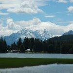 Ski resort Lenzerheide Foto