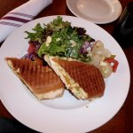 Chicken Panini with Roasted Beet Salad