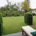 Terrasse privee qui donne sur le jardin