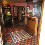 The entrance of Ye Old Boot Pub