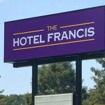 Highway Sign-Hotel Francis