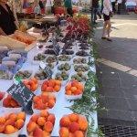 Marché aux Fleurs Cours Saleya Foto