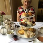 Our lovely afternoon tea.