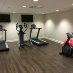 Work out room in basement