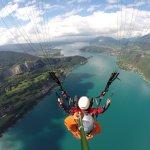 vol sur lac d'Annecy