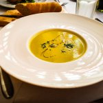 Pea & Asparagus Soup