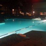 Pool looking towards towel room