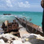 So Amazing and how pretty the water is and all the rusty equipment just looks very antique. This