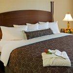 Plush Linens & Pillow Top Mattress to Relax