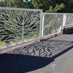 shadows of a bridge