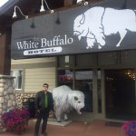 White buffalo entrance - September 2016