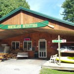 The landing is easy to use, the general store has everything for camping and coffee, and the riv