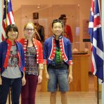 THE MUSEUM ALLOWED KIDS TO TRY ON THE UNIFORMS