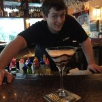 Dan. Awesome bartender!!!!!