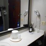 Split bathroom and prep area...