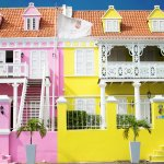 Some of the hotels units, seperate and colorful apartments - SimplyCyn.com