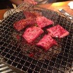Dotonbori Charcoal Fire Grilled Meat Mitsuru Foto