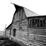 One of the old Mormon Barns