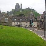 Corfe Castle Foto