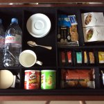 In room mini bar
