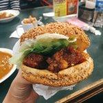 Chinese Chicken Burger