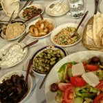 Very nice Greek Meze