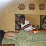 la massaggiatrice