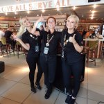 The best and happiest members of the Hardrock café. Thank you Maeve, hope you got your quiz fini