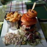 Brioche burger special
