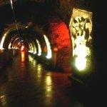 Kunst in den Champagner Kellern von Mercier