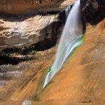 Lower Calf Creek Falls.