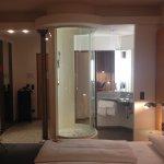 Die gläserne Dusche inspiriert!